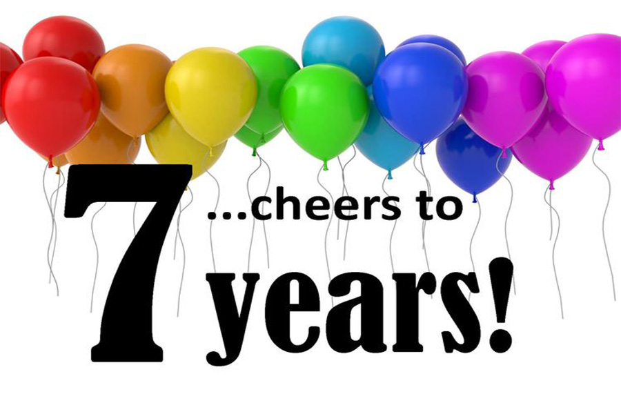 We're celebrating 7 years of photography service by giving you a 10% coupon.